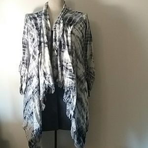 Justice Girls open over shirt  size 16